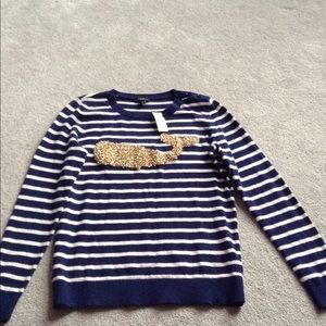 NWT Talbots Whale Sweater